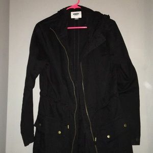 Black cinch Jacket